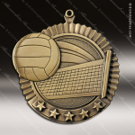 Medallion Five Star Series Volleyball Medal Volleyball Medals