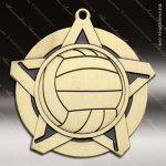 Medallion Super Star Series Volleyball Medal Volleyball Medals