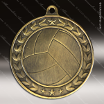 Medallion Illusion Series Volleyball Medal Volleyball Medals