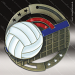 Medallion Enamel Series Volleyball Medal Volleyball Medals