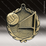 Medallion Wreath Series Volleyball Medal Volleyball Medals