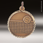 Medallion Sunray Series Volleyball Medal Volleyball Medals