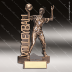 Kids Resin Billboard Series Vollyball Boys Trophy Awards Volleyball Trophy Awards