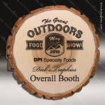Engraved Rustic Wood Plaque Laser Etched Old West Cottonwood Award Walnut Finish Plaques
