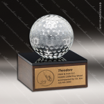 Wooden Square Simple Flat Golf Trophy Award Wood Awards