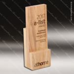 Wooden Rectangle Square Step Trophy Award Wood Awards