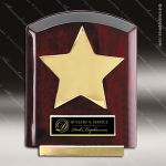 Star Dome Corporate Plaques Stand Wood Awards