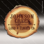 Laser Engraved Wood Coaster Old West Log Round Etched Gift Wood Round Edge Coasters