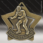 Medallion Star Series Wrestling Medal Star Wrestling Medals