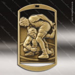 Medallion Dog Tag Series Wrestling Medal Wrestling Medals