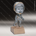 Kids Resin Bobble Head Jr Series Wrestling Trophy Awards Wrestling Trophy Awards