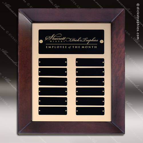 Employee Of The Month Year Quarter Plaques